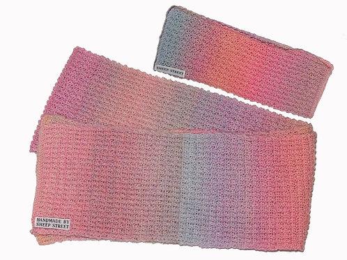 Pastel Variegated Scarf