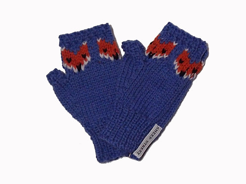 Mid Blue Steptoe Gloves