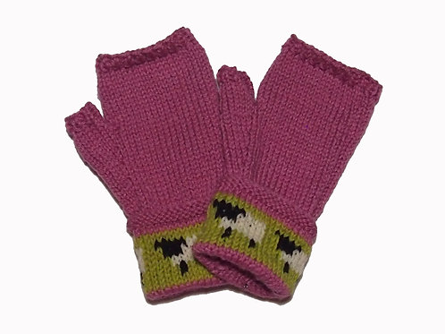 Rose Gloves with Cuff