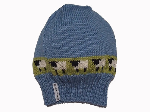 Forget-Me-Not Slouch Beanie