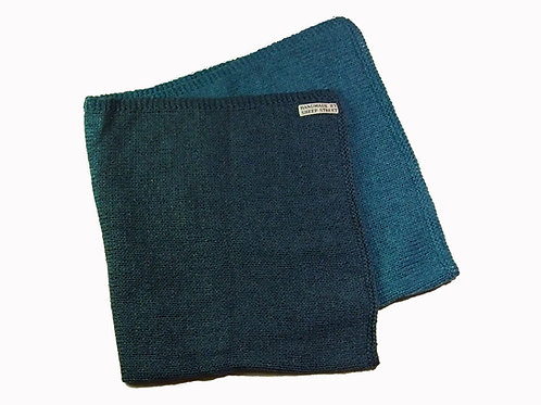 Blue Two Toned Blanket