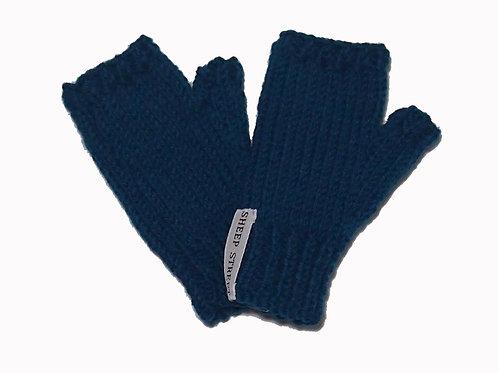 Teal Steptoe Gloves