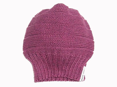 Berry Slouch Beanie