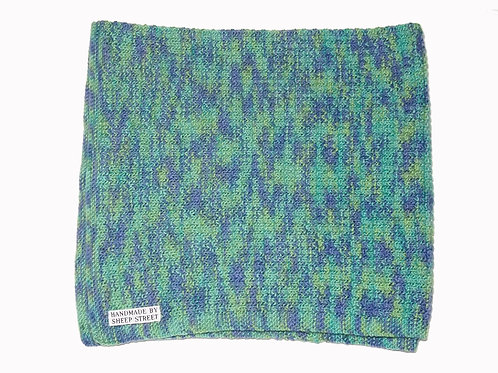Green, Purple and Aqua Blanket