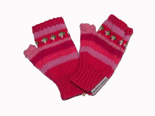 Pink Steptoe Gloves