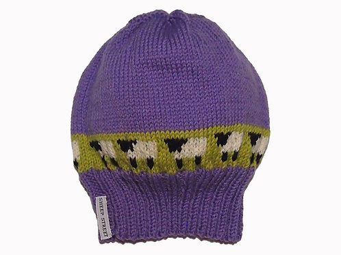 Lavender Slouch Beanie