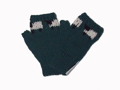 Dark Green Steptoe Gloves