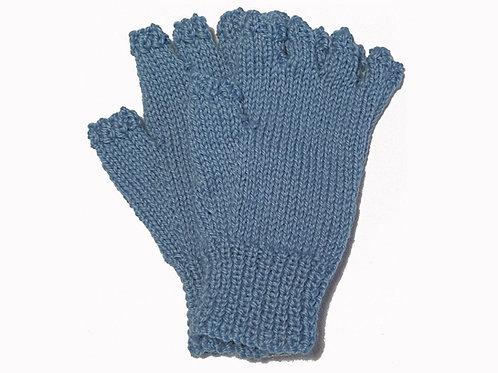 Light Blue Steptoe Gloves