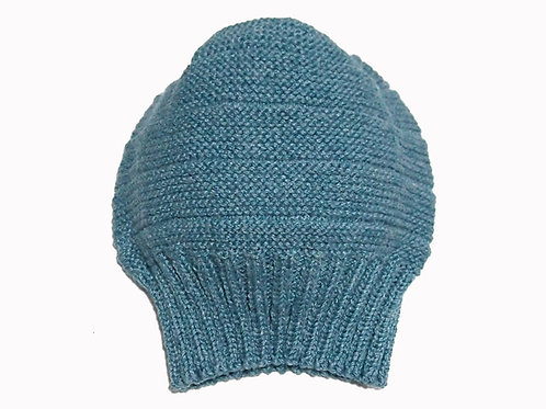 Denim Blue Slouch Beanie