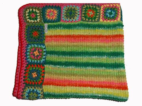 """'Spring Meadow"""" Blanket"""
