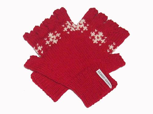 Mens Red 'Steptoe' Gloves