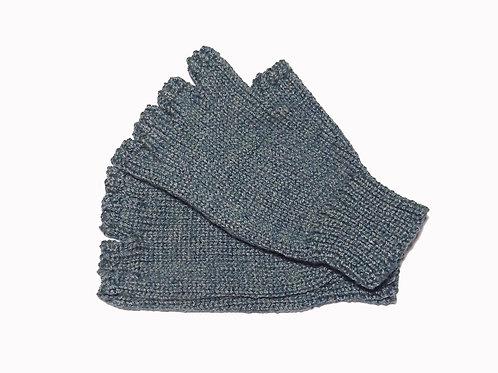 """Green """"Steptoe"""" Gloves"""