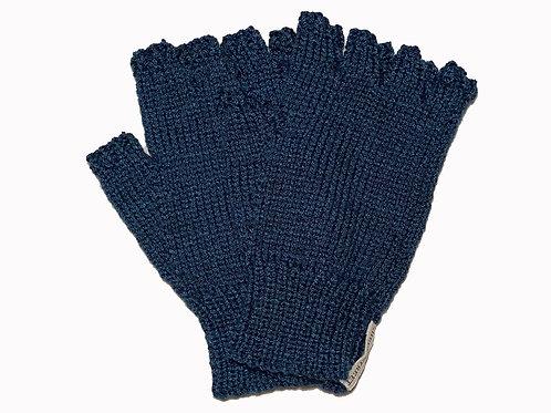 """Dark Blue """"Steptoe"""" Gloves"""
