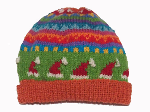 Kids Orange Beanie - Medium