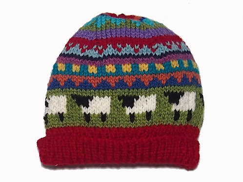 Small - Red Beanie