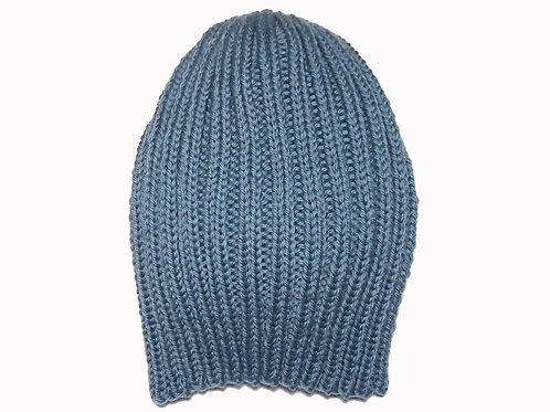 Teal Ribbed Beanie
