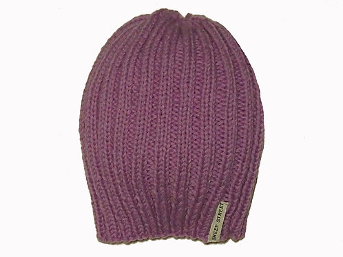 Lilac Ribbed Hat