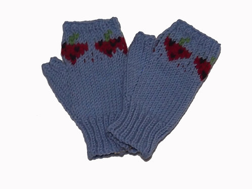 Light Blue Steptoe Gloves