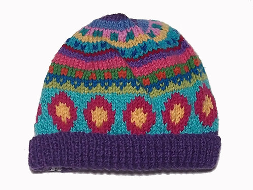 Small - Purple Beanie