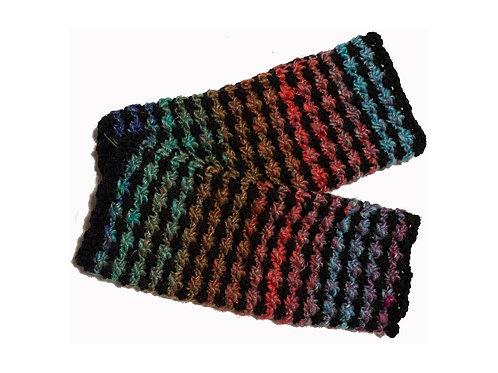 Black Brights Fingerless Gloves