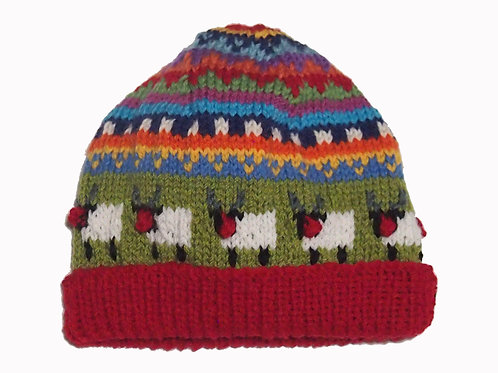 Kids Red Beanie - Medium