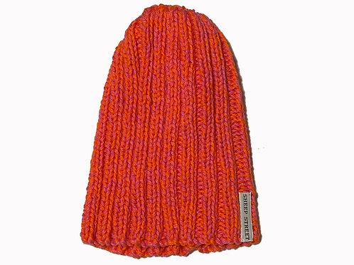 Pink/Orange Cotton Hat