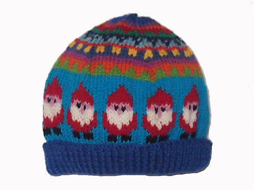 Kids Blue Beanie - Large