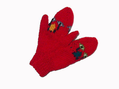 Red - Full Mittens