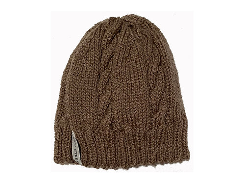 Fawn Cabled Hat