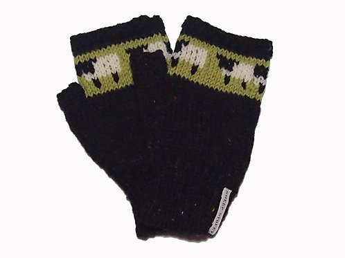Midnight Fingerless Gloves