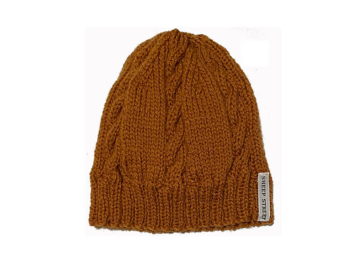 Mustard Cabled Hat
