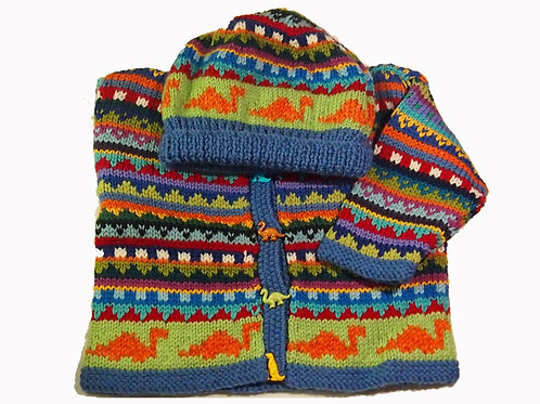Size 6-12 Months - Blue Band Cardigan