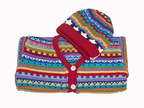 Size 4 - Red Band Cardigan