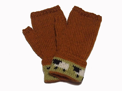 Bark Gloves with Cuff