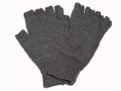 """Light Grey """"Steptoe"""" Gloves"""