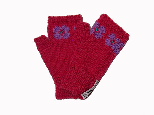 Mid Pink Steptoe Gloves