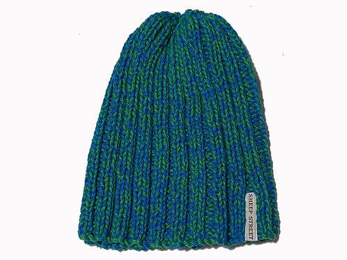 Blue/Green Cotton Hat