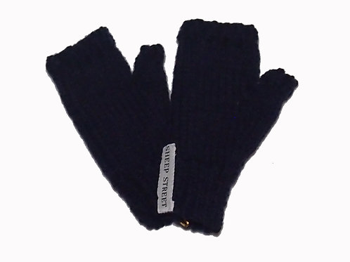 Navy Steptoe Gloves