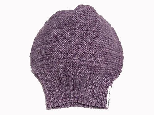 Purple Slouch Beanie