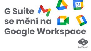 G Suite se mění na Google Workspace