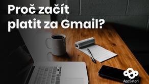 Proč začít platit za Gmail?