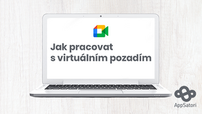Jak pracovat s virtuálním pozadím