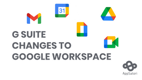 G Suite changes to Google Workspace