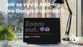Jak se vyvíjí Add-on pro Google Kalendář? Případová studie Around