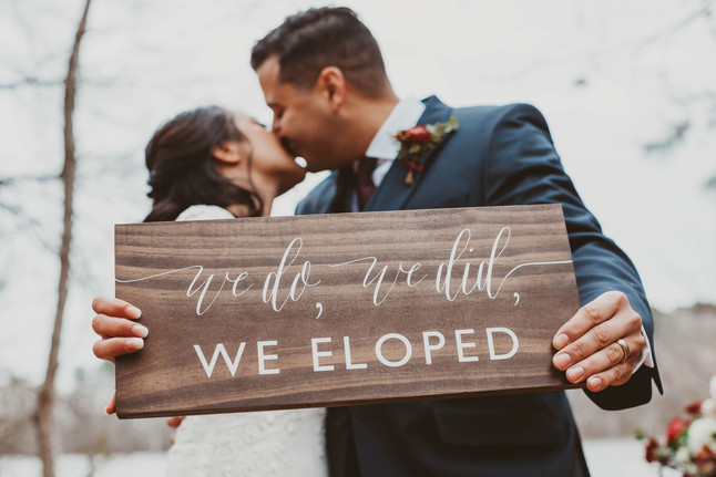 Chris + Lauren's Elopement | Virginia Beach