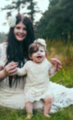 Sarah and her daughter