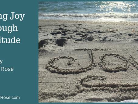 Finding Joy Through Gratitude