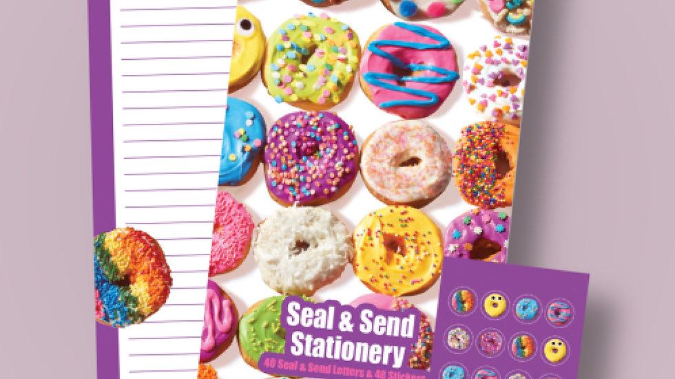 Donut seal & send Stationery