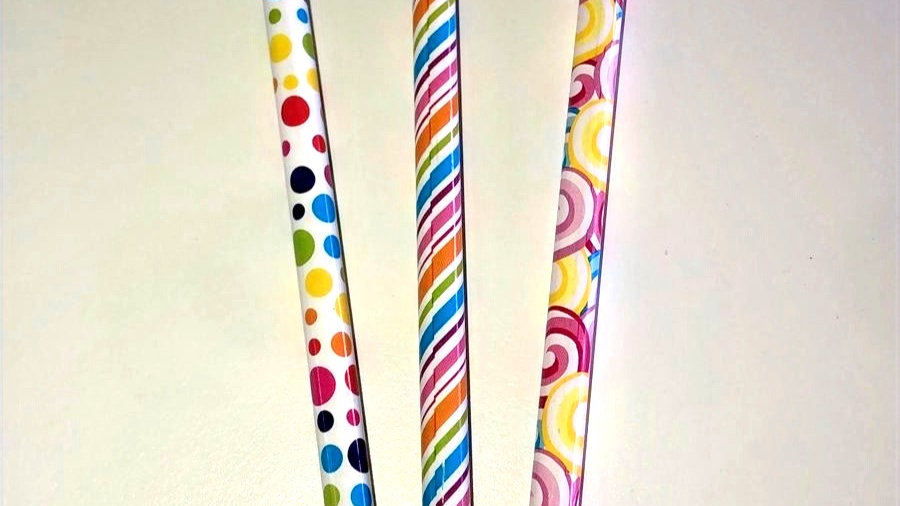 Dandy candy graphite pencils with topper