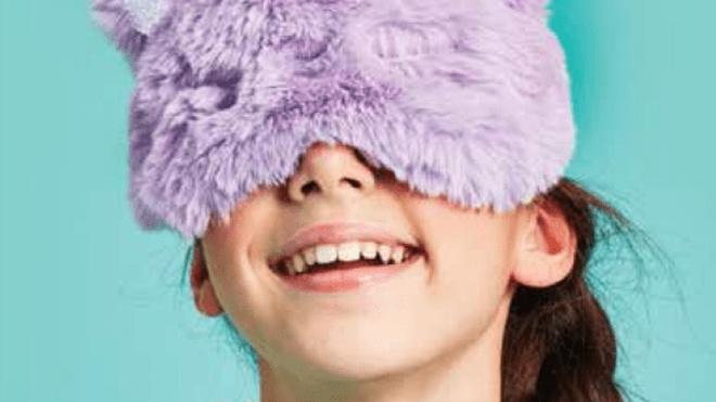 Cat furry eye mask